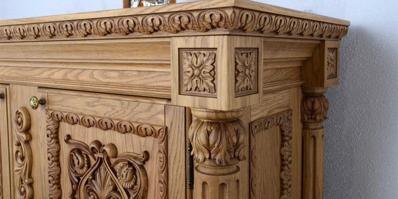 Элементы резьбы по дереву для мебели