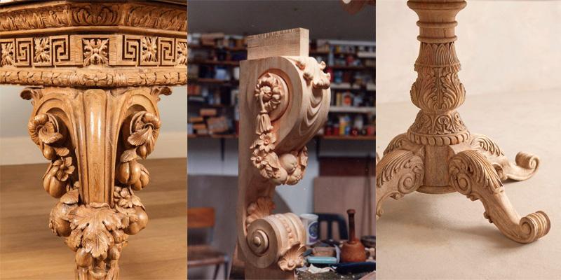Деревянные опоры для мебели от производителя в Краснодаре