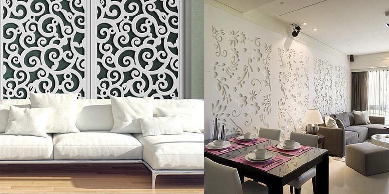 Декоративные резные стеновые панели